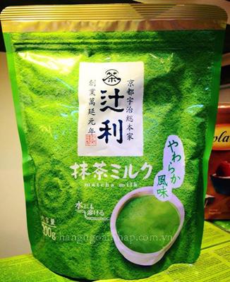 Bột sữa trà xanh Matcha Milk  của Nhật Bản 200g