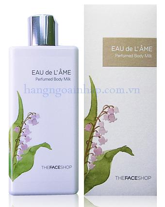 Sữa tắm nước hoa Eau de L'ame TheFaceShop Hàn Quốc 230ml