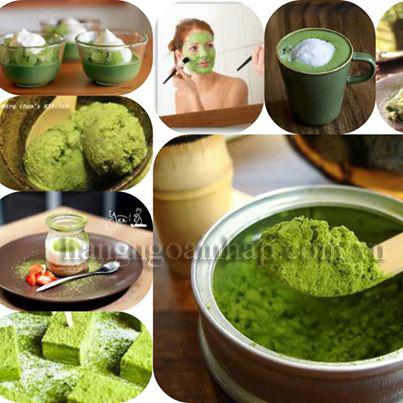 Bột trà xanh Matcha nguyên chất 60g của Nhật Bản