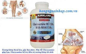 Glucosamine HCL 1500mg Kirkland 375 viên