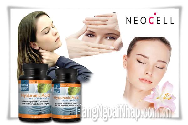 Neocell Hyaluronic Acid  Hộp 60 100mg Viên Của Mỹ
