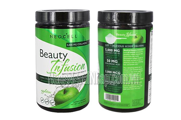 NeoCell Collagen Beauty Infusion Hương Táo  5000mg Của Mỹ