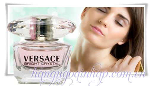 Nước Hoa Dành Cho Nữ Versace Bright Crystal  Của Ý 5ml