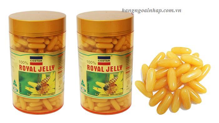 sữa ong chúa costar 1450mg royal jelly của úc