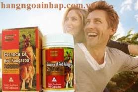 Thực phẩm tăng sinh lý đàn ông Essence of Red Kangaroo của úc
