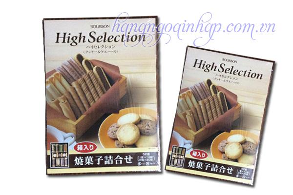 Bánh Quy Hộp Bourbon Hight Selection Của Nhật Bản