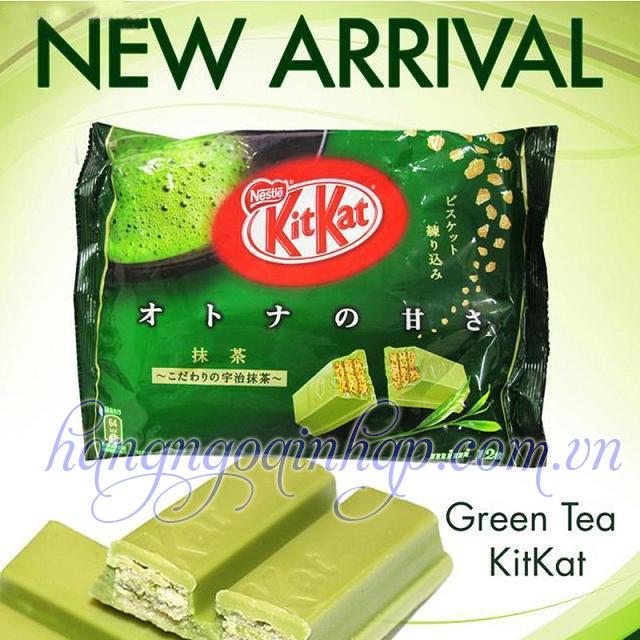 Bánh KitKat Trà Xanh Của Nhật Bản