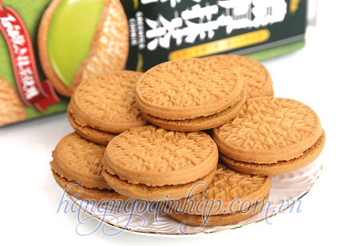 bánh quy kem tra xanh furura của nhật