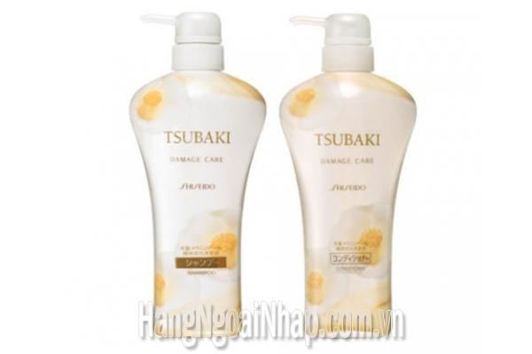 Dầu Gội Shiseido Tsubaki Màu Trắng Bộ 2  Của Nhật