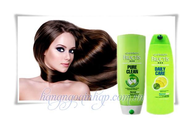Bộ Dầu Gội Và Xã Garnier Fructis  384ml Của Mỹ-dành cho tóc khô hư tổn