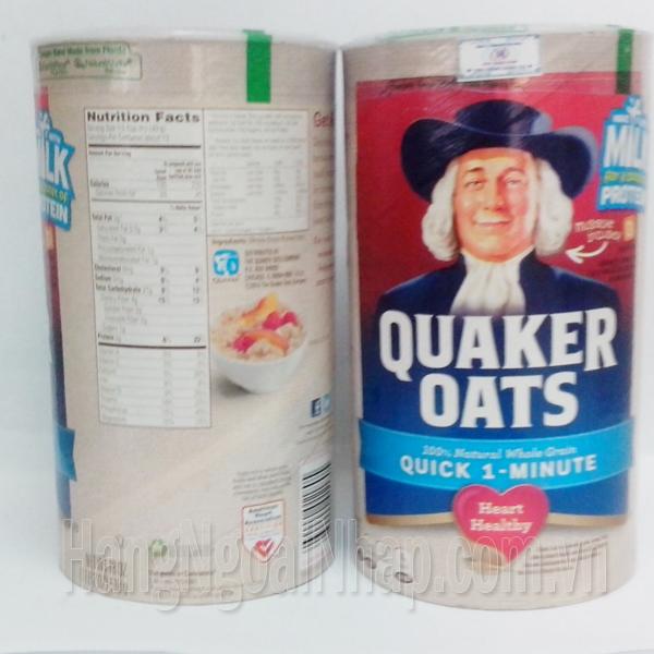 Bột Yến Mạch Của Mỹ Quaker Oats 510g