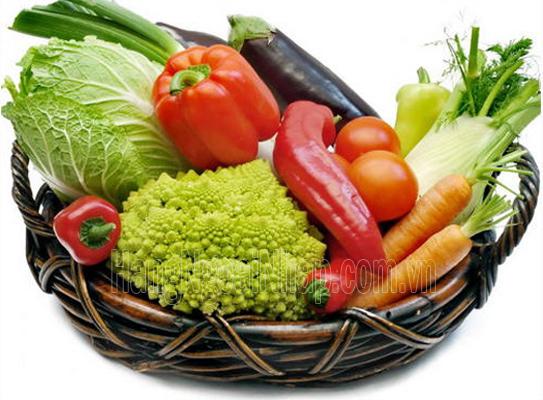 Các Cách Chống Nhăn Da Hiệu Quả với rau củ quả