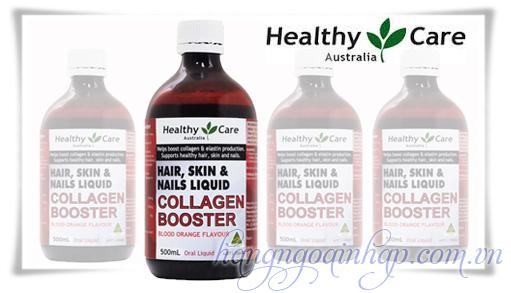 Collagen Dạng Nước Booster Hair, Skin, Nails Liquid 500ml Của Úc