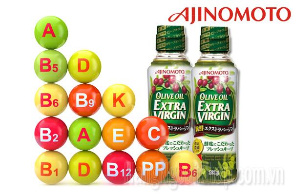 Dầu Ăn Ajinomoto Olive Oil Extra Virgin Của Nhật
