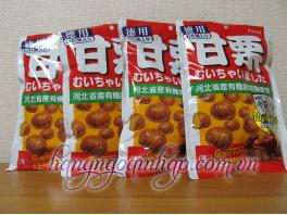 Hạt Dẻ Bóc Sẵn Kracie  Của Nhật Bản Gói 210g