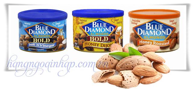 Hạt Hạnh Nhân Blue Diamond  Của Mỹ