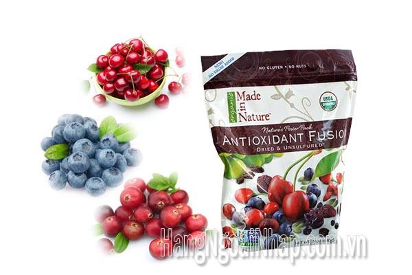 Trái Cây Tổng Hợp Made In Nature Antioxidant Fusion Gói 680g Của Mỹ