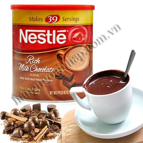 Bột Socola Sữa của mỹ Nestle Hot Cocoa Mix, Rich Milk Chocolate