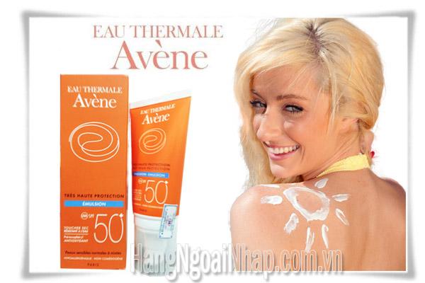 Kem Chống Nắng Cho Da Nhạy Cảm Eau Thermale Avene Spf 50+ Của Pháp