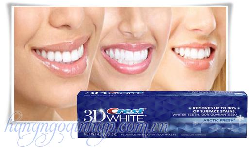 Kem Đánh Răng Crest 3D White Của Mỹ