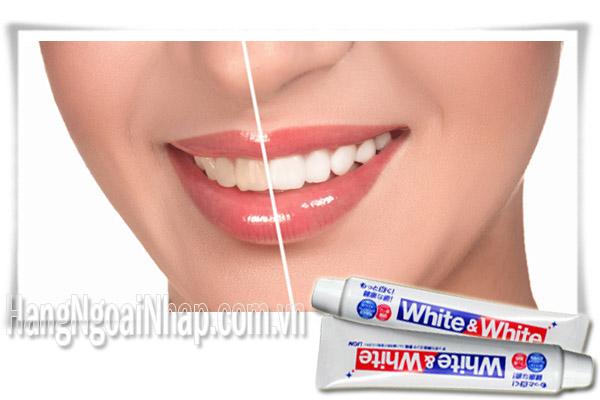 Kem Đánh Răng Của Nhật White And White Hộp 150g