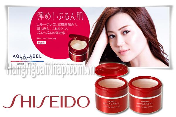 Kem Dưỡng Da Shiseido Aqualabel Hộp 90g Của Nhật