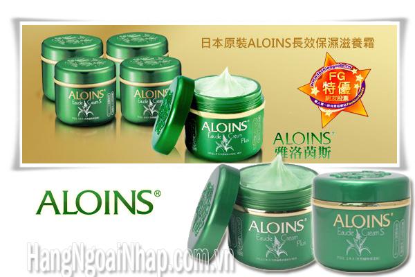 Kem Dưỡng Trắng Da Lô Hội Của Nhật  Aloins Eaude Cream S 185g