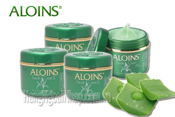 Kem Dưỡng Trắng Da Lô Hội Aloins Eaude Cream S 185g Của Nhật