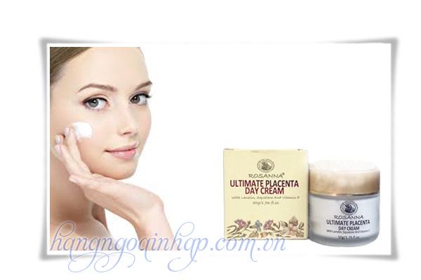 Kem Dưỡng Da Rosanna Ultimate Placenta Day Cream Hộp 50g Của Úc