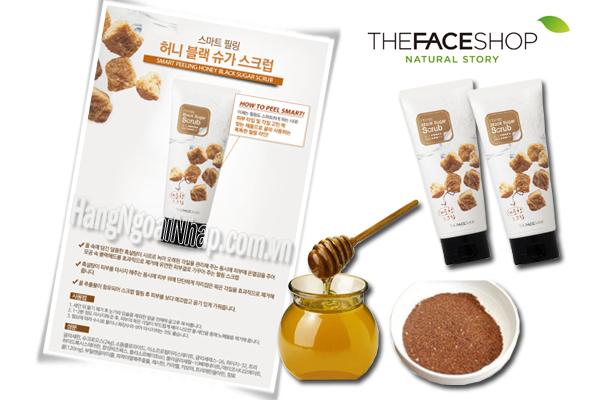 Kem Tẩy Tế Bào Chết Honey Black Sugar Scrub 120ml Của Nhật