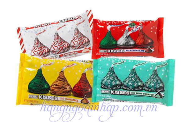 Kẹo Chocolate Sữa Hersheys Kisses 48 Viên 311g Của Mỹ