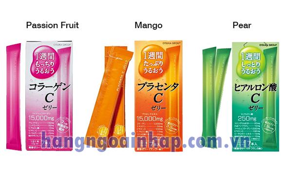 Kẹo Collagen C Jelly của Nhật