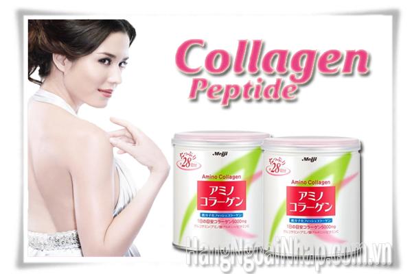 Meiji Amino Collagen Dạng Bột 5000mg Của Nhật Bản