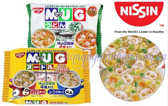 Mỳ Ăn Liền Mug Nissin Dành Cho Trẻ Em Của Nhật Bản