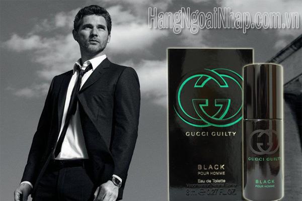 Nước Hoa Dành Cho Nam Gucci Guilty Black Pour Homme lọ 8ml