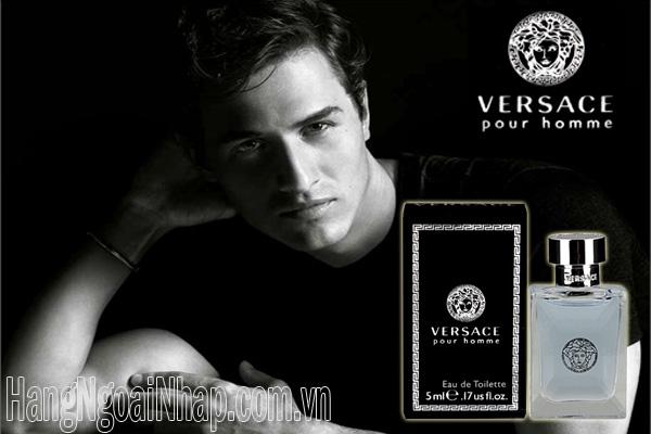 Nước Hoa Dành Cho Nam Versace Pour Homme 5ml Italy