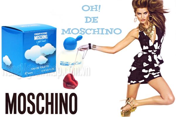 Nước Hoa Dành Cho Nữ Moschino Light Clouds 4.9ml Italy