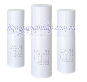 Nước Hoa Dành Cho Nam Lacoste Eau De Lacoste L.12.12 Blanc 8ml – White