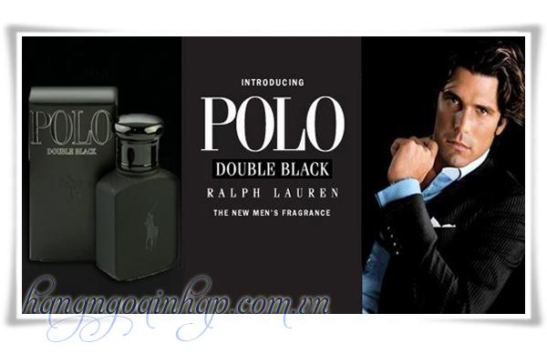 Nước Hoa Dành Cho Nam Polo Double Black Chai Nhỏ 40ml Của Mỹ