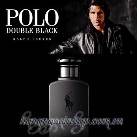 Nước Hoa Dành Cho Nam Polo Double Black 40ml Của Mỹ