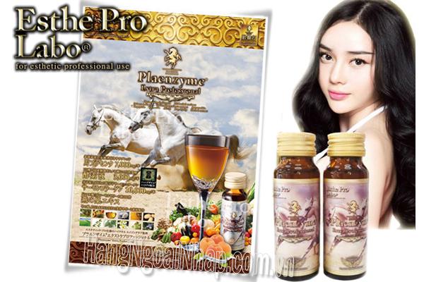 Nước Uống Nhau Thai Ngựa Và Yến EsthePro Labo Plaenzyme Của Nhật