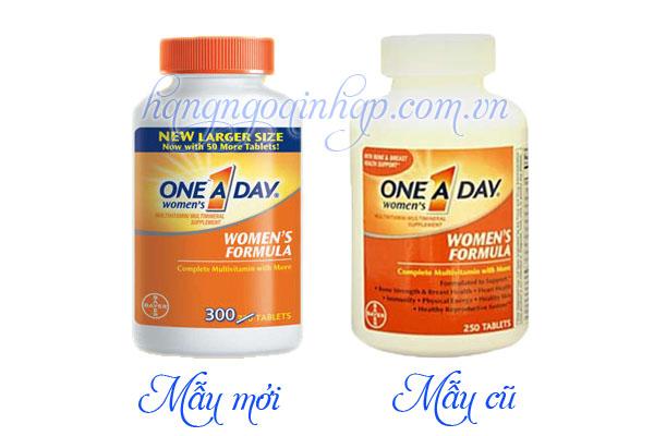 one a day wonmen health formula mẫu mới  300 viên của mỹ