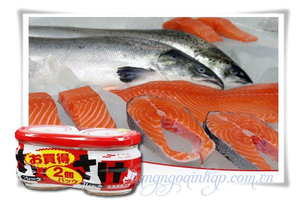 Ruốc Cá Hồi Của Nhật Bản Hộp 60g Bổ sung Omega3 Và DHA
