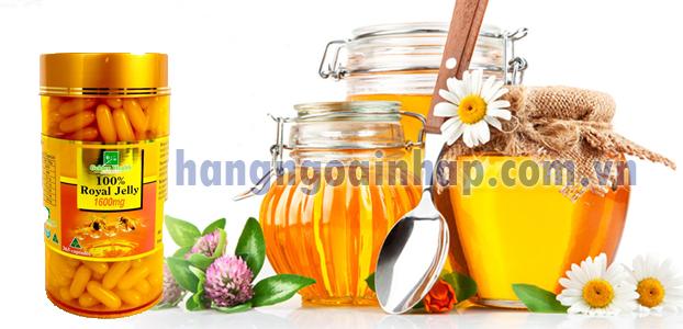Sữa Ong Chúa Golden Health Royal Jelly 1600mg 365 Viên của úc