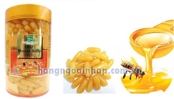 Sữa Ong Chúa Úc Golden Health Royal Jelly 365 Viên 1600mg
