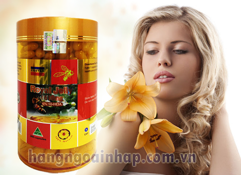Sữa ong chúa Úc Costar Royal Jelly 1610mg