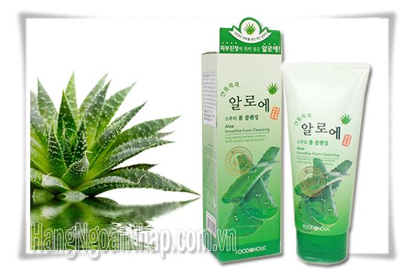 Sửa Rửa Mặt Tinh Chất Lô Hội 180ml Của Hàn Quốc
