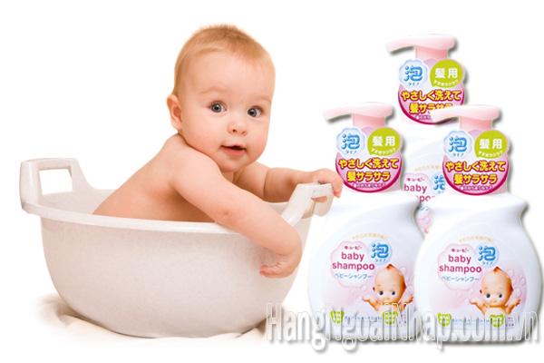 Sữa Tắm Gội Cho Trẻ Sơ Sinh Của Nhật  Baby Shampoo 350ml