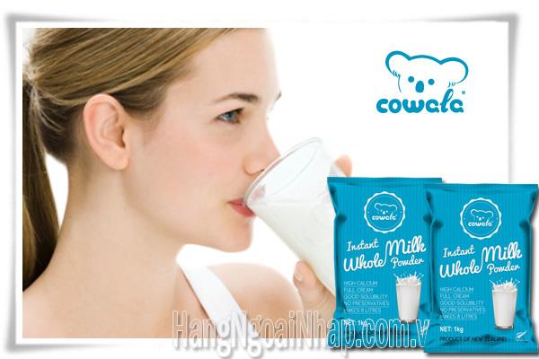 Sữa Tươi Dạng Bột Nguyên Kem Cowala Milk  Của New Zealand