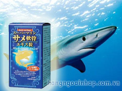 Sụn cá mập Nhật Bản -Điều trị bệnh xương khớp 240 viên